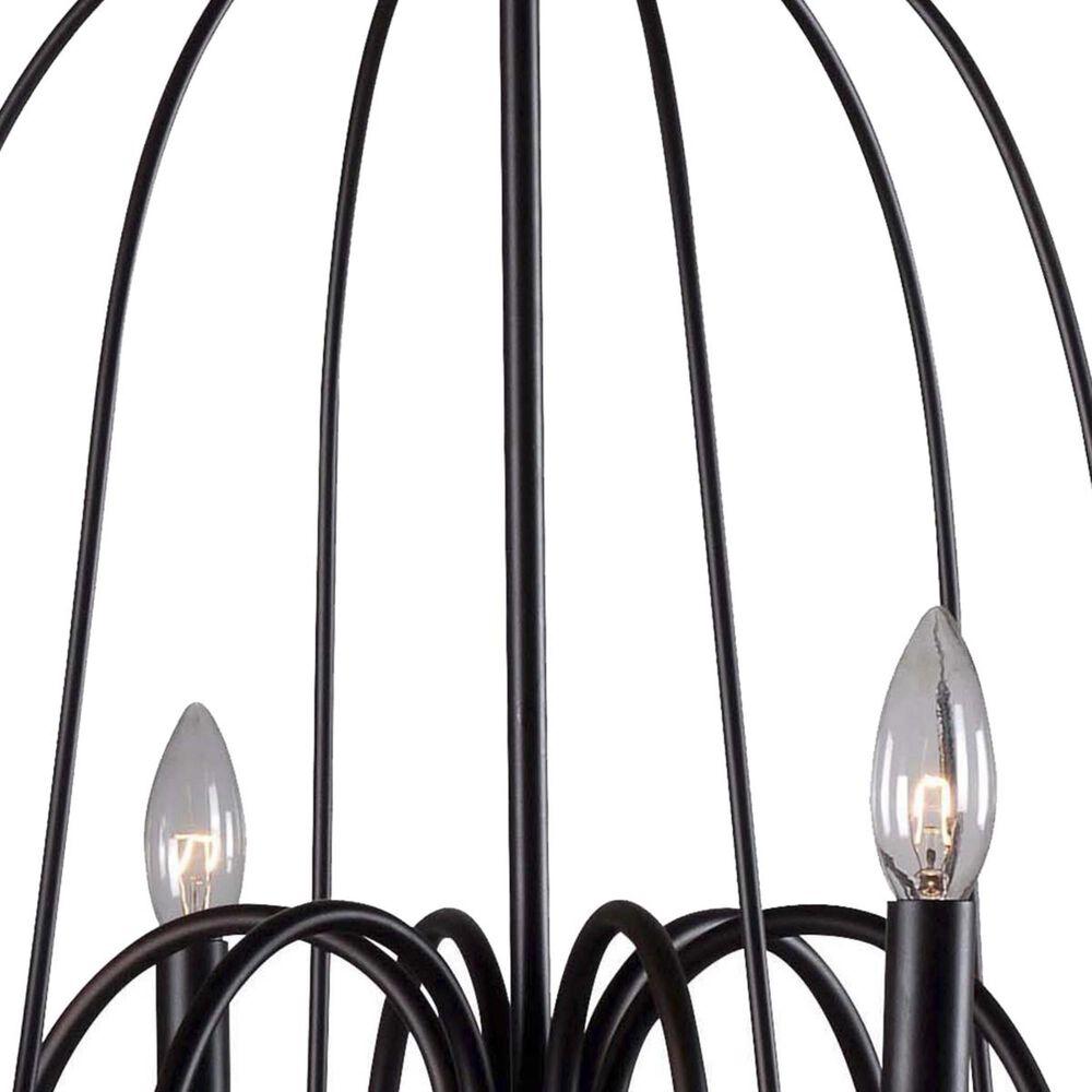 Kenroy Panner 6-Light Chandelier in Black, , large