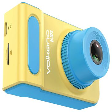 Volkano Kids HD Shutterbug Series Action Camera in Yellow and Blue, , large