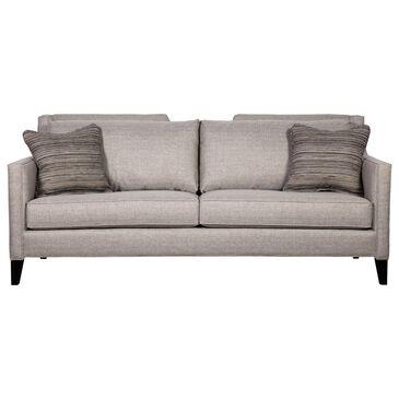 Century Del Mar Sofa in Gray with Espresso Legs , , large