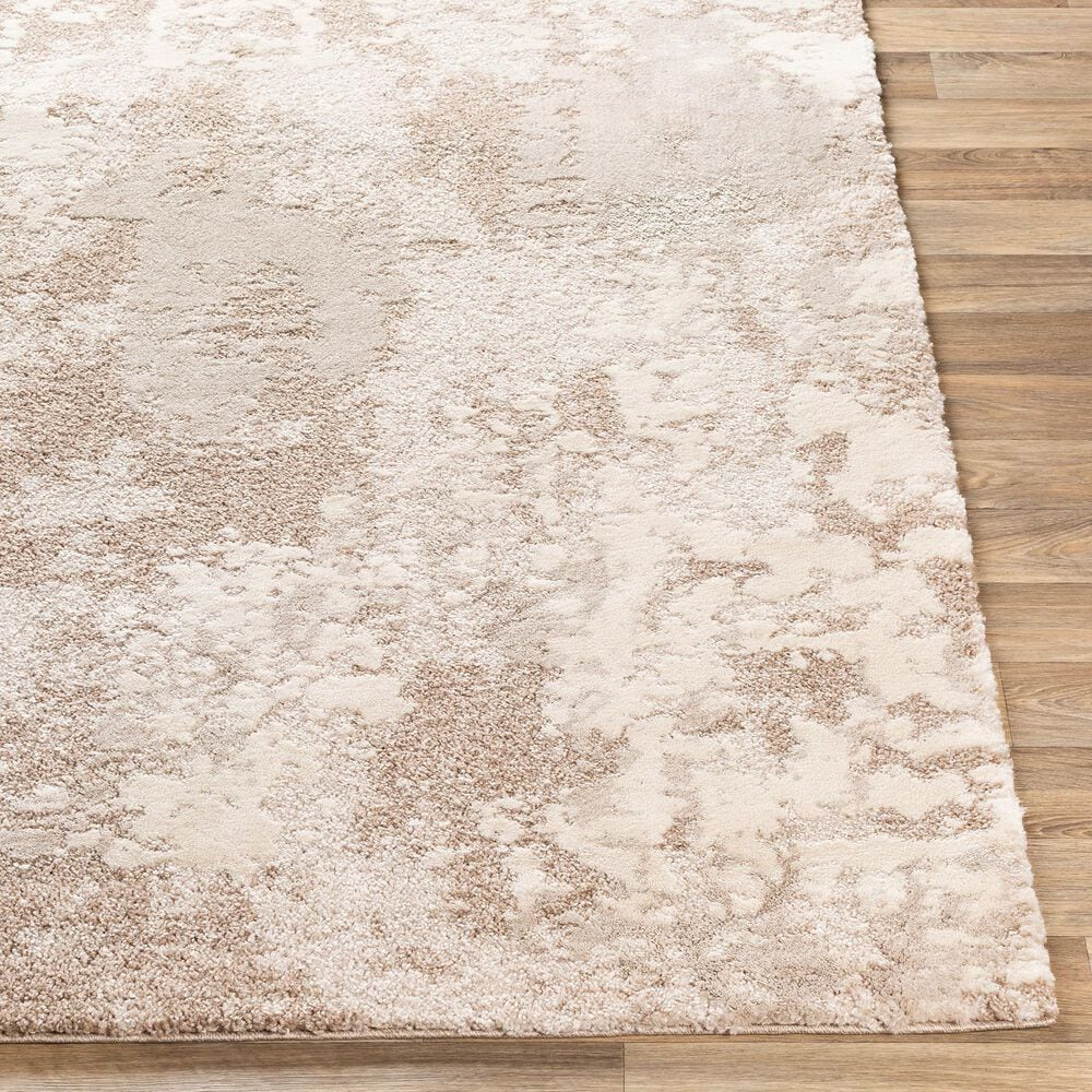 """Surya Venice VNE-2307 6'9"""" x 9'6"""" Gray, Camel and Ivory Area Rug, , large"""