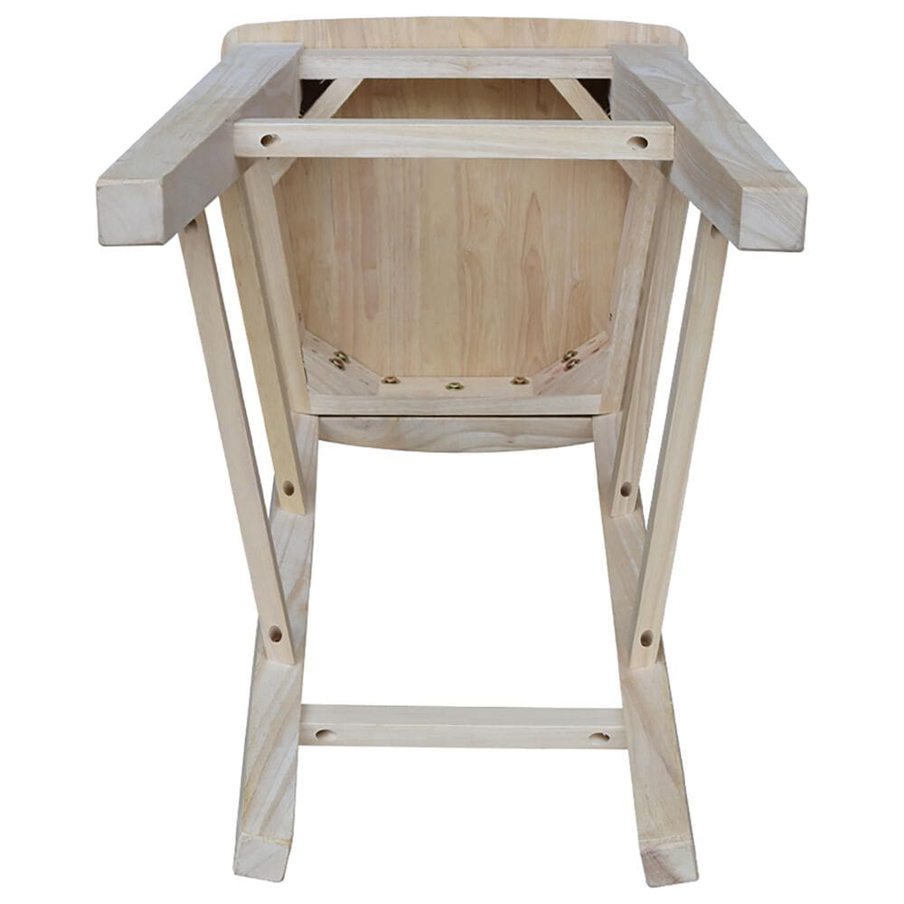 """International Concepts Canyon 30"""" Barstool in Unfinished, , large"""