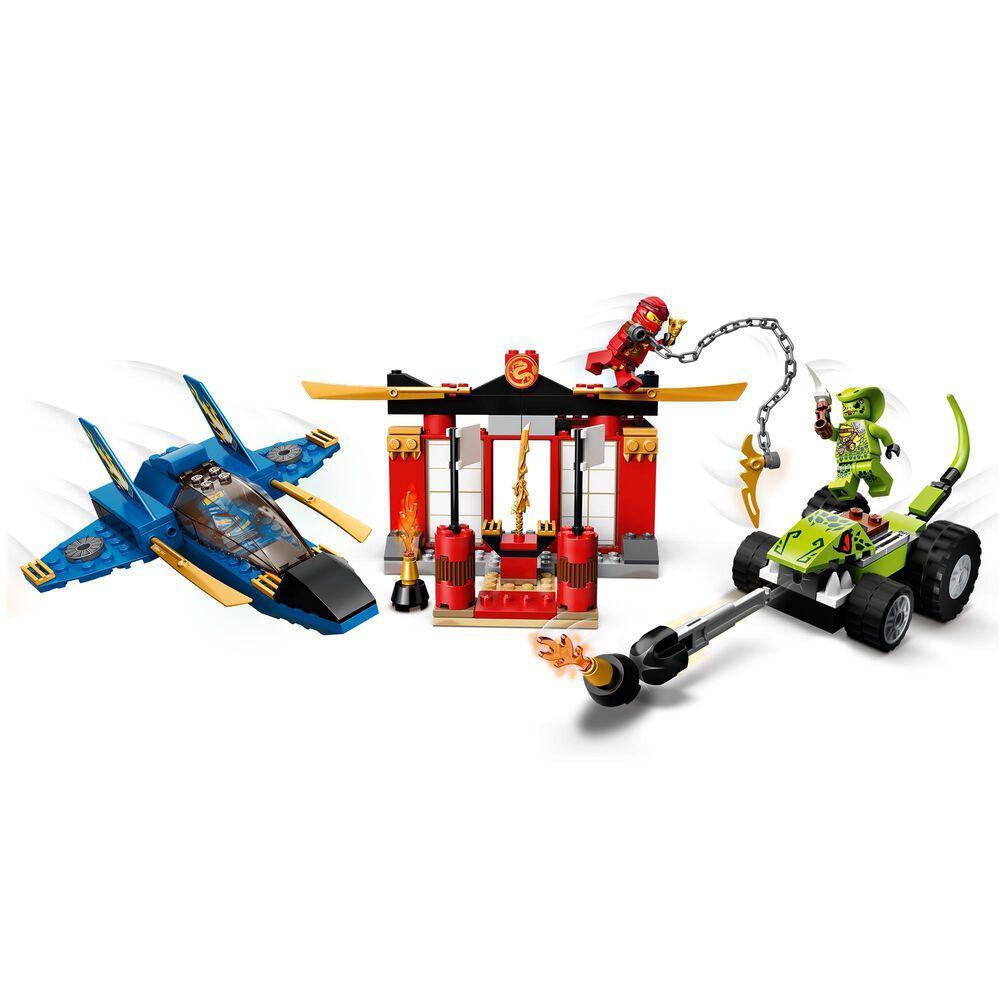 LEGO Ninjago Storm Fighter Battle Building Set, , large