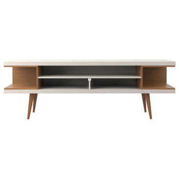 "Manhattan Comfort Utopia 70.47"" TV Stand in Off White and Maple Cream, , large"
