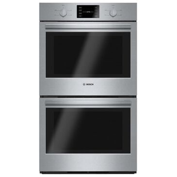 "Bosch 30"" Double Wall Oven 500 Series in Stainless Steel, , large"