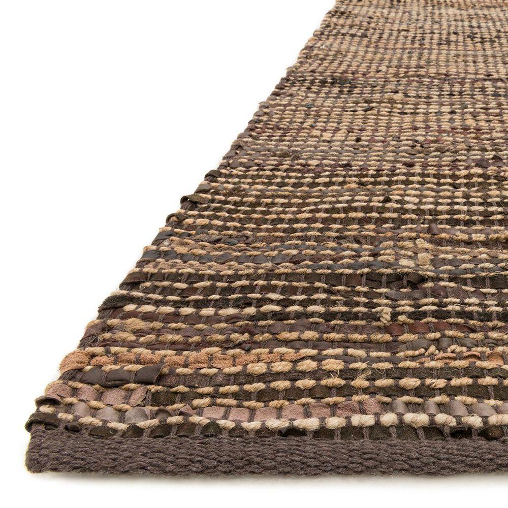 """Loloi Edge ED-01 7'9"""" x 9'9"""" Brown Area Rug, , large"""