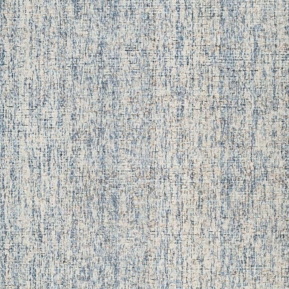Safavieh Abstract 6' Square Dark Blue and Rust Area Rug, , large