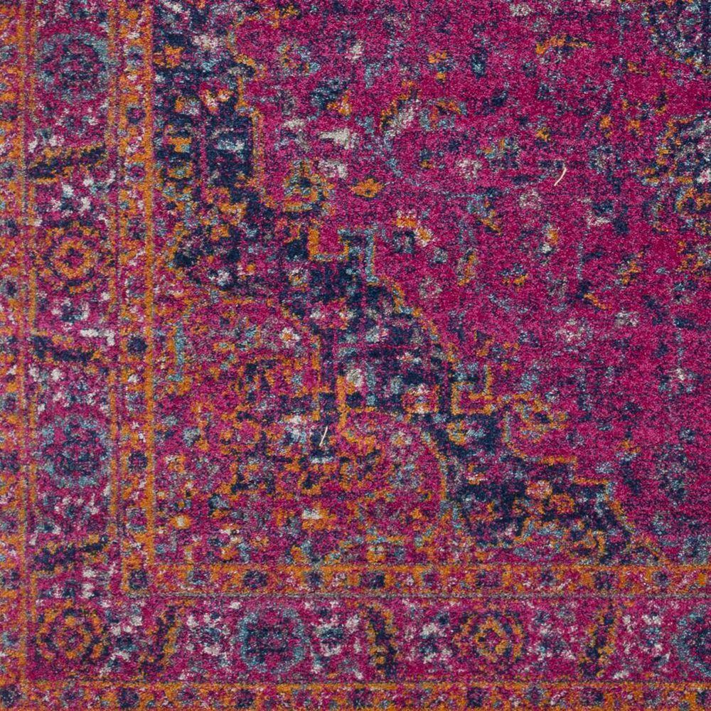 "Surya Harput HAP-1008 3'10"" x 5'7"" Garnet, Orange and Teal Area Rug, , large"