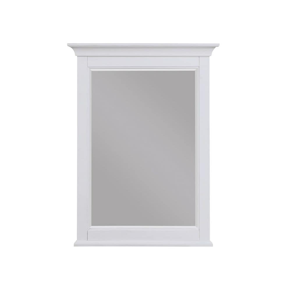 Aurafina Cunningham Mirror in Plantation White, , large
