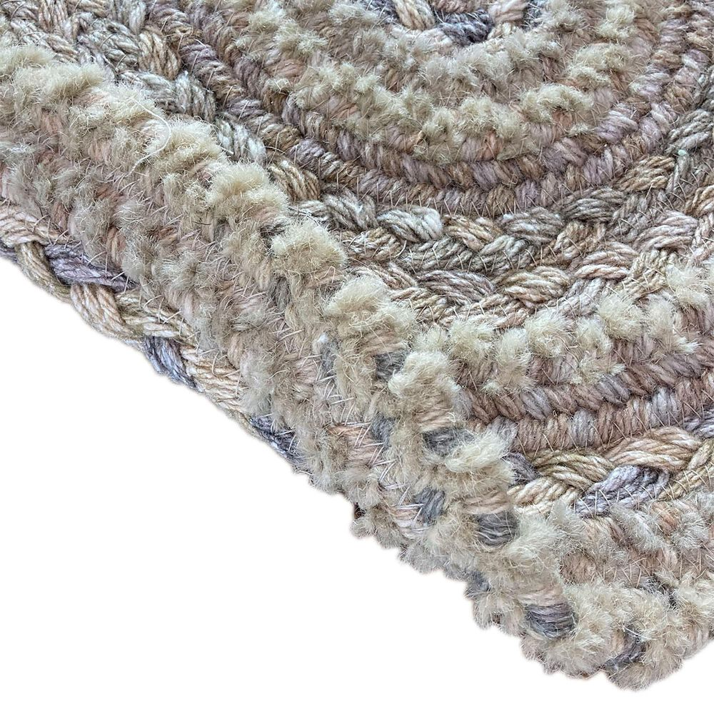 Capel Bayview 0036-760 3' Round Neutral Area Rug, , large