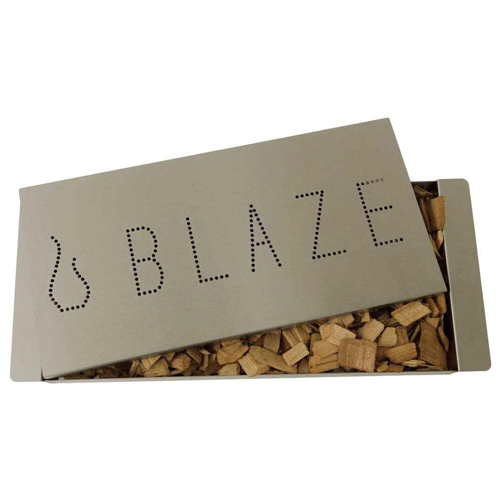 Blaze Extra Large Smoker Box in Stainless Steel, , large