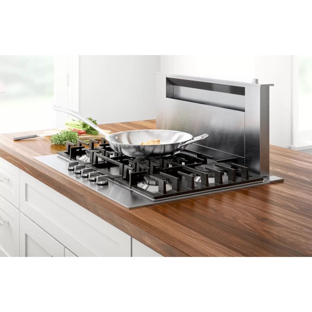 """Bosch 30"""" Gas Cooktop 800 Series in Stainless Steel, , large"""
