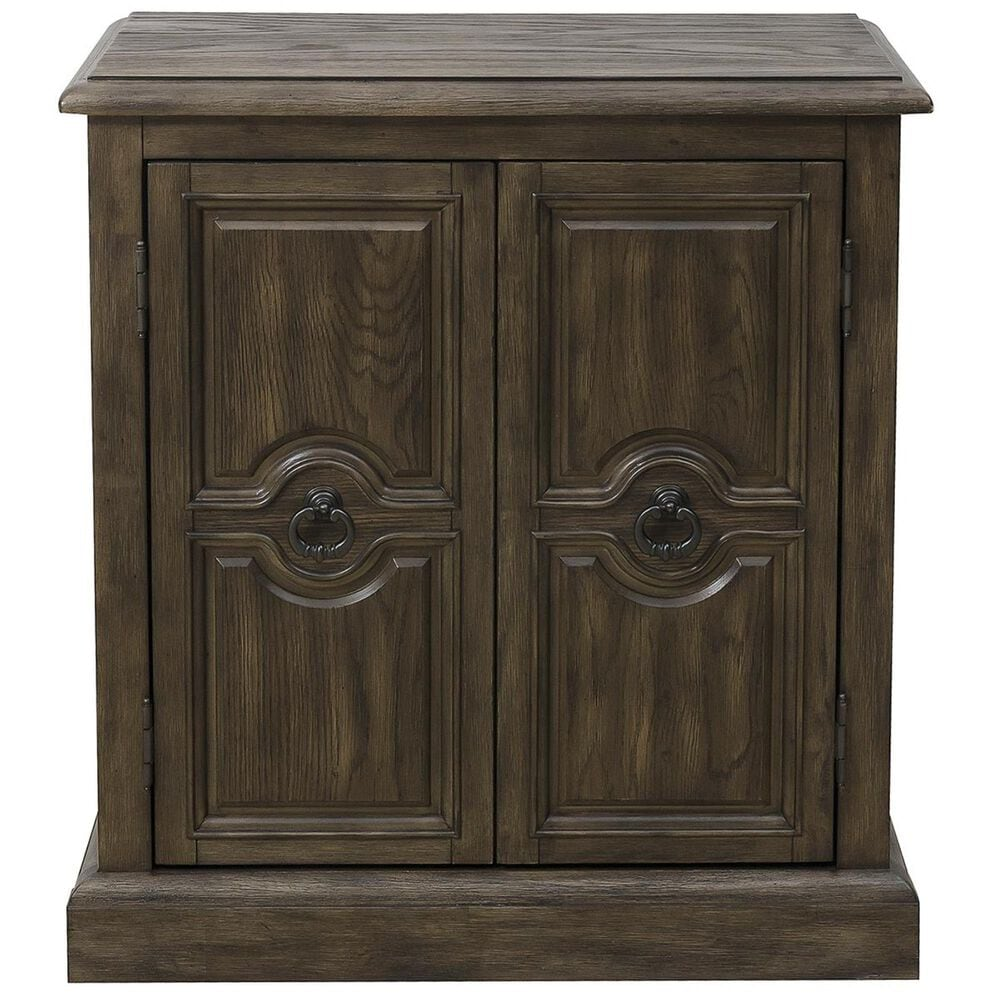 Accentric Approach Accentric Accents Benton 2-Door Accent Chest in Brown, , large