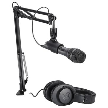 Audio-Technica Stream and Podcast Bundle in Black, , large