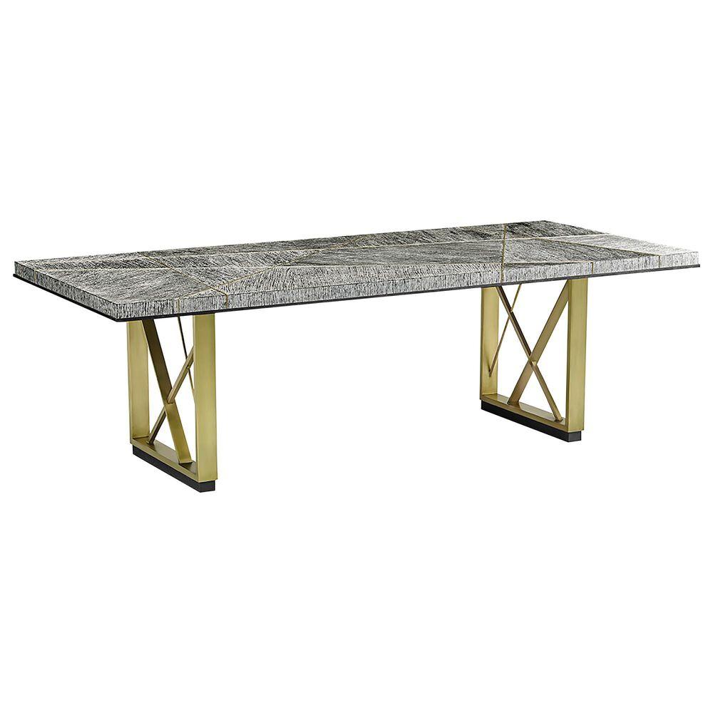 "Jonathan Charles Fine Furniture  Geometric 96"" Dining Table in Dark French Oak, , large"