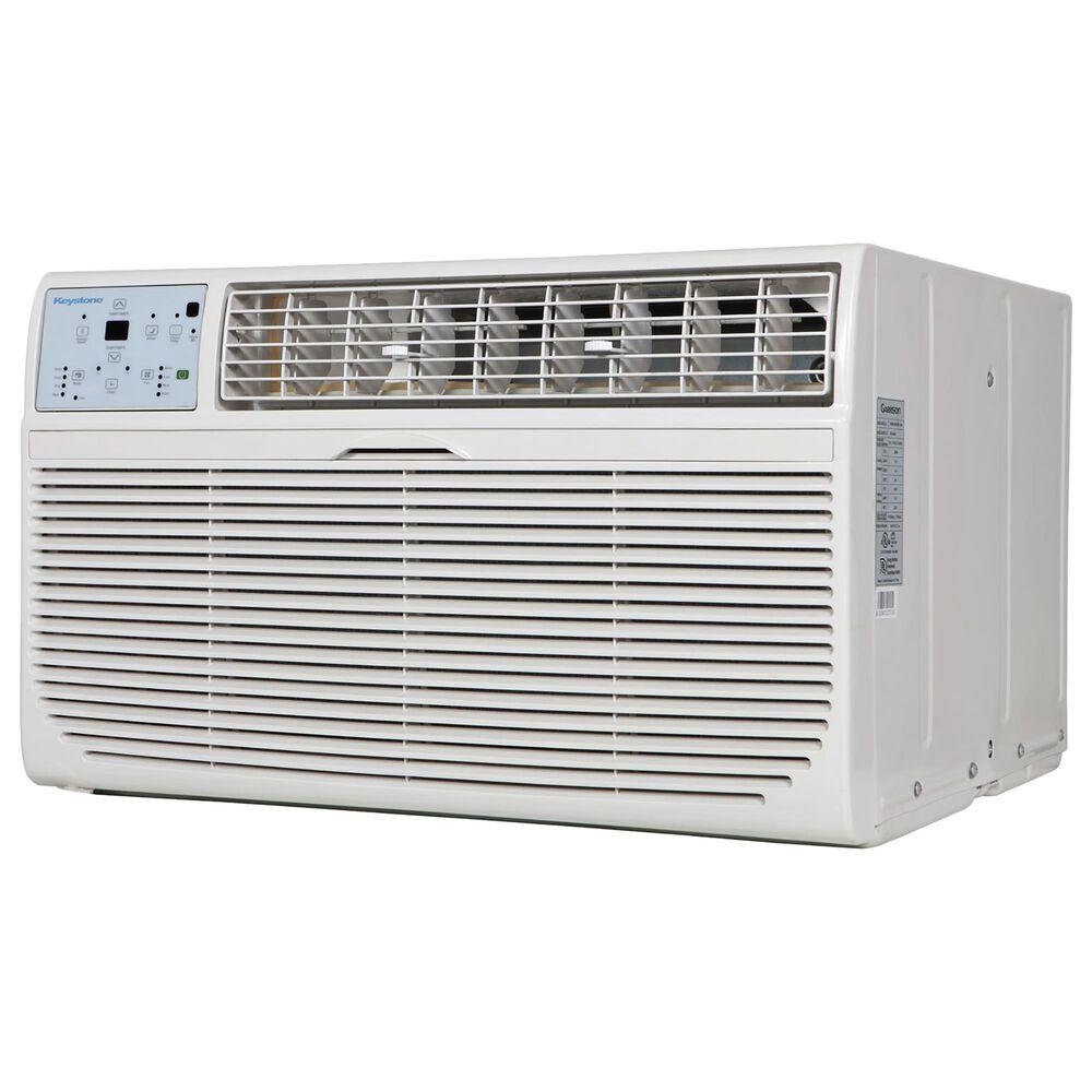Almo Distributing Keystone 8,000 BTU 115V Through-the-Wall Air Conditioner with 4,200 BTU Supplemental Heat Capability, , large