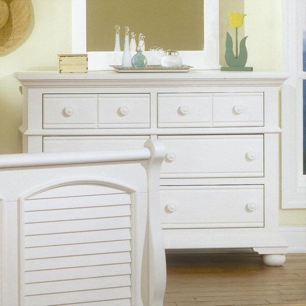Springmeier Cottage Traditions 6 Drawer Dresser in White, , large