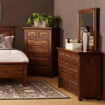 Napa Furniture Design Hill Crest 6 Drawer Chest in Dark Chestnut, , large