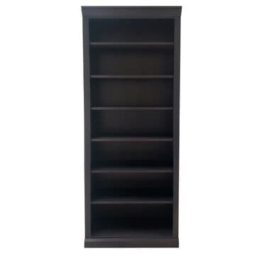 "New Wave Furniture 84"" Bookcase in Platinum Grey, , large"
