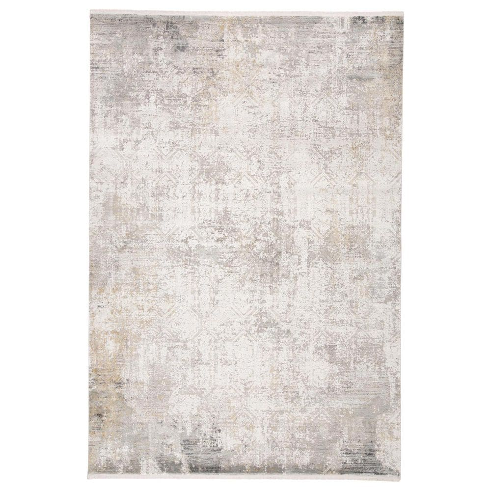 """Feizy Rugs Cadiz 3892F 2""""2"""" x 3""""2"""" Light Gray and Ivory Scatter Rug, , large"""