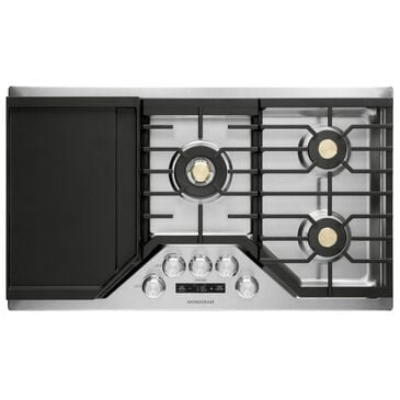 "GE Appliances 36"" Gas Sealed Burner Cooktop in Stainless Steel, , large"
