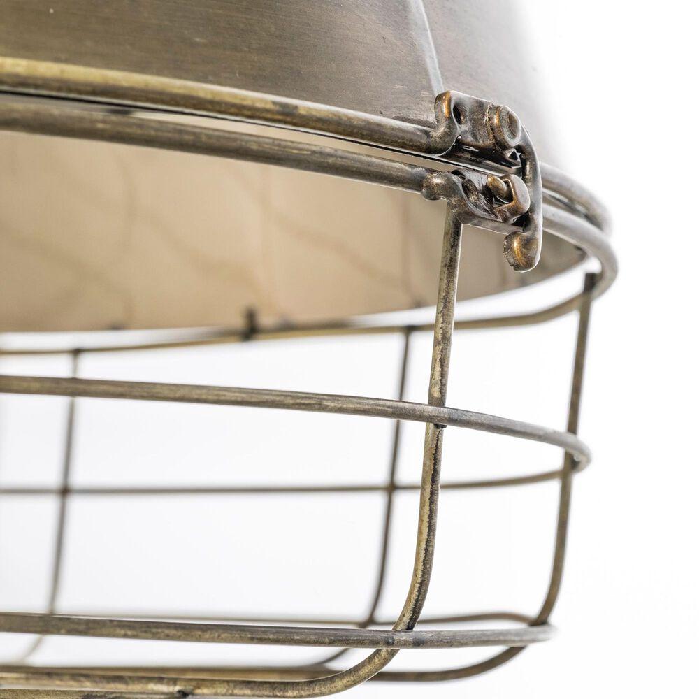 Mercana Tahla 1-Light Pendant in Antiqued Brass, , large