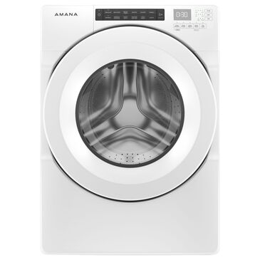 Amana 4.3 Cu. Ft. Front Load Washer with Large Capacity in White, , large