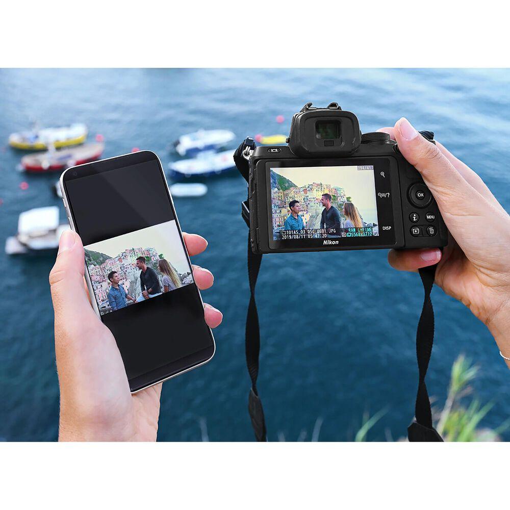 Nikon Z 50 Mirrorless Digital Camera and 16-50mm f/3.5-6.3 VR Lens in Black, , large
