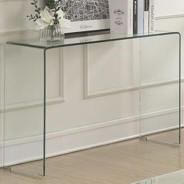 Pacific Landing Clear Acrylic Sofa Table, , large