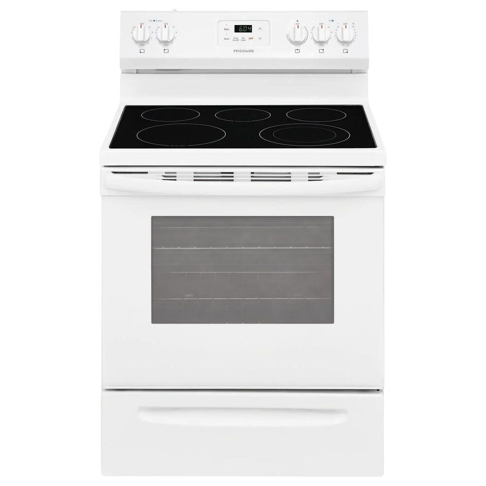 """Frigidaire 30"""" Electric Range with Ceramic-Top in White, , large"""