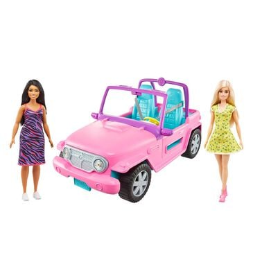 Barbie Friends in Off-Road Vehicle, , large
