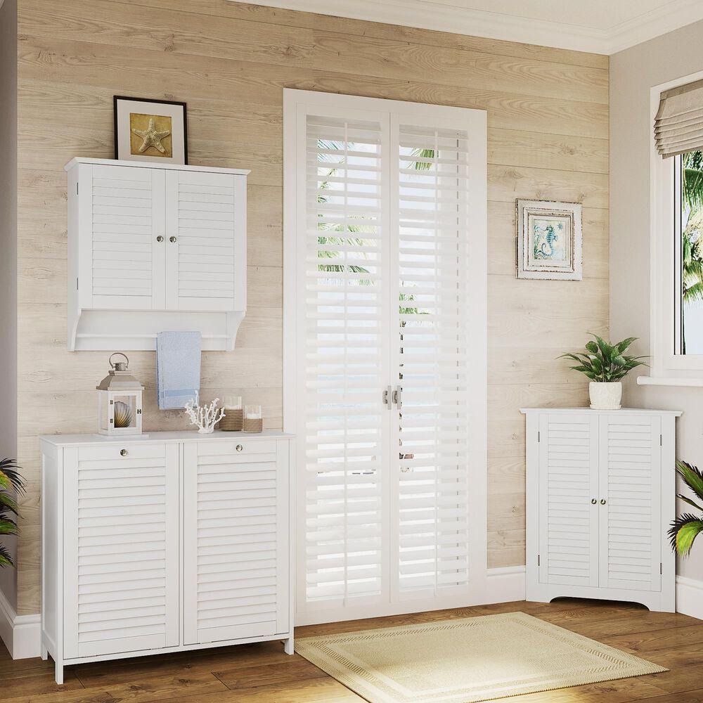RiverRidge Home Ellsworth 2-Door Wall Cabinet in White, , large
