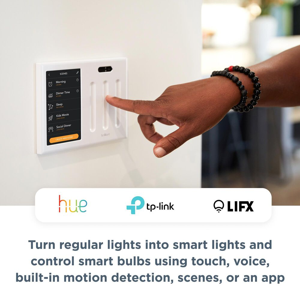 Brilliant All-in-One Smart Home 2 Switch Control, , large