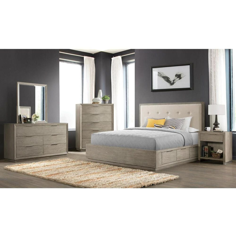 Shannon Hills Zoey 5 Drawer Standard Chest in Urban Gray, , large