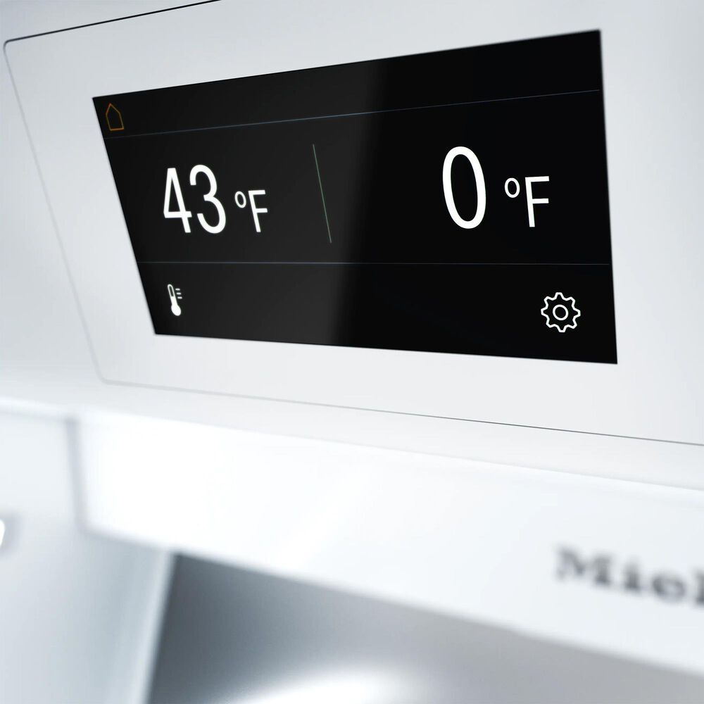 Miele 475 Cu. Ft. Bottom Freezer Refrigerator with MasterCool in Clean Touch Steel, , large