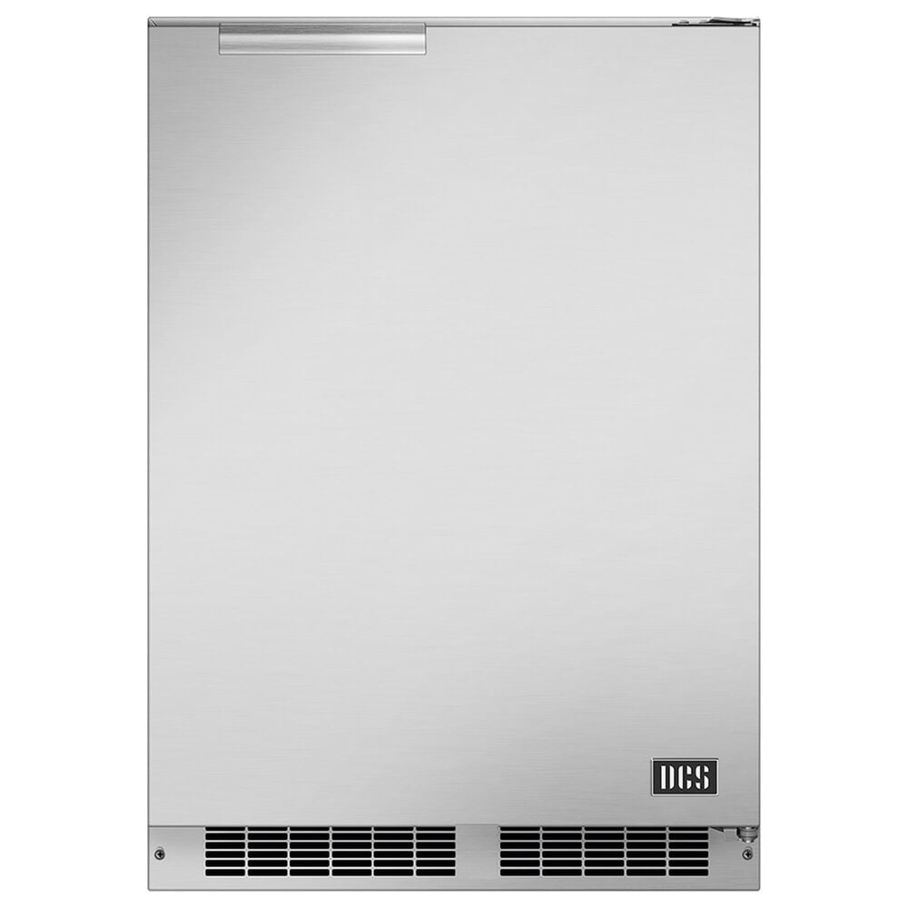 """DCS 24"""" Outdoor Refrigerator with Right Hinge in Stainless Steel, , large"""