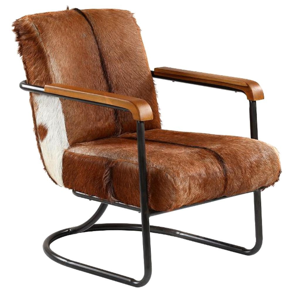 Blue Sun Designs Vistan Occasional Chair in Cow Hide, , large