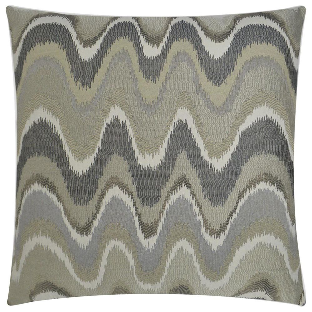 """D.V.Kap Inc 24"""" Feather Down Decorative Throw Pillow in Rave Wave, , large"""