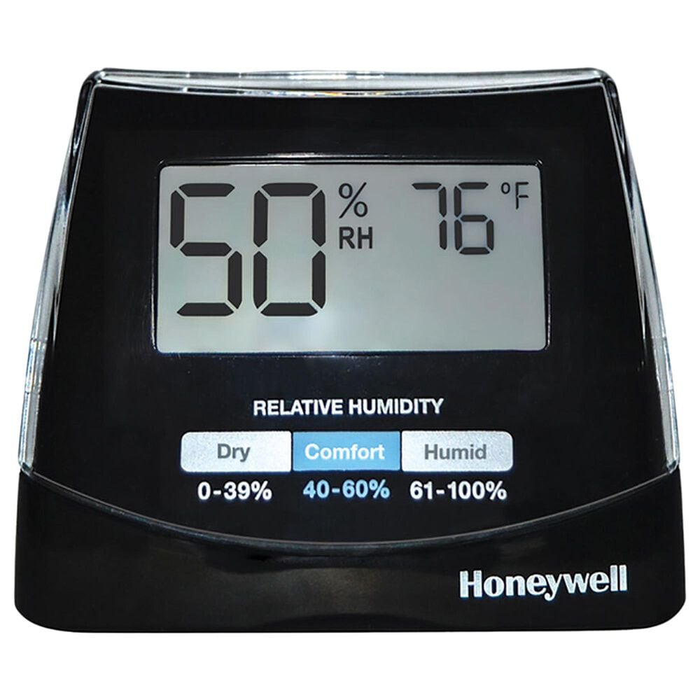 Helen Of Troy Humidity Monitor with Digital Display in Black, , large