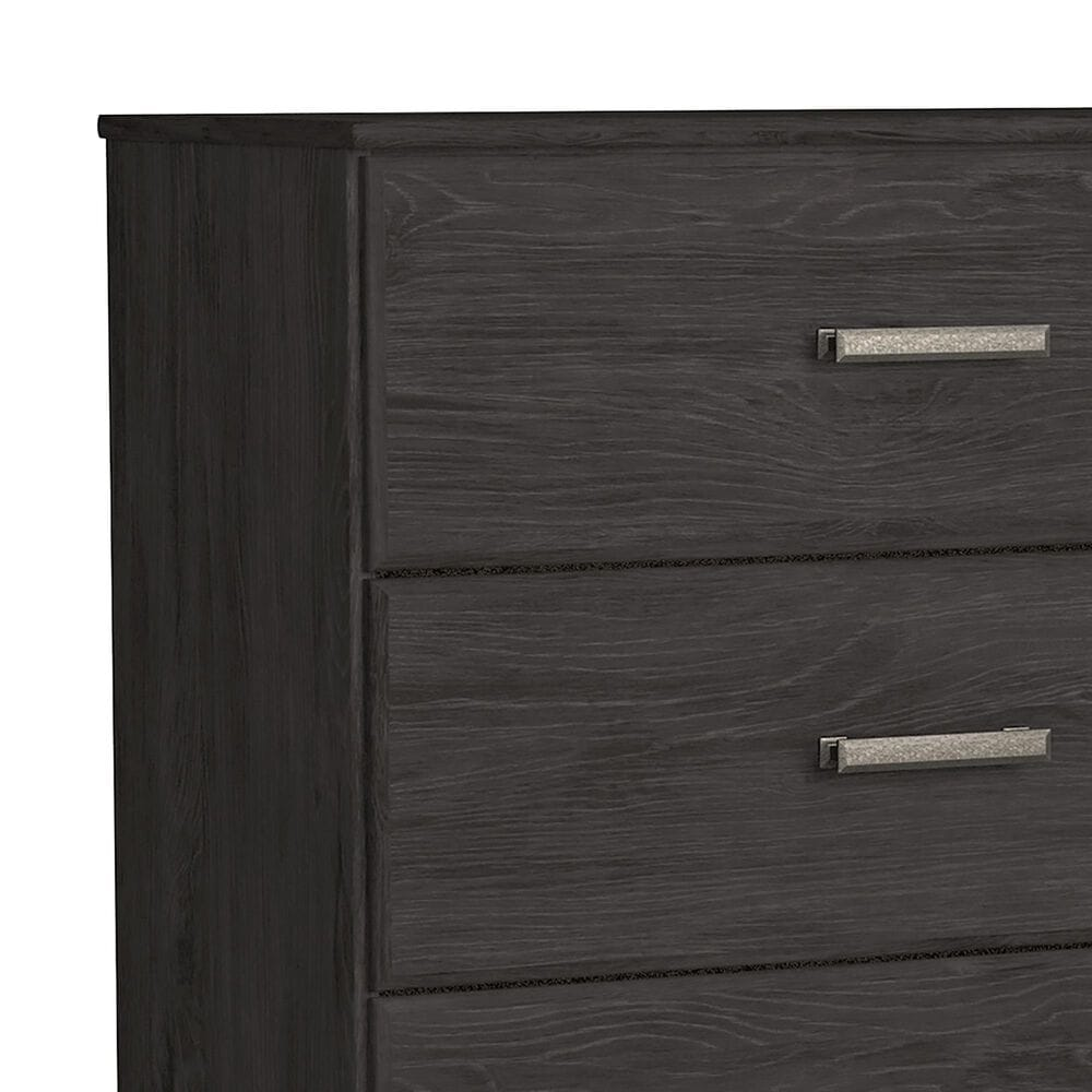 Signature Design by Ashley Belachime 3 Piece Queen Bedroom Set in Dark Charcoal, , large
