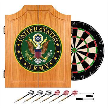 Timberlake U.S. Army Symbol Dart Cabinet Set, , large