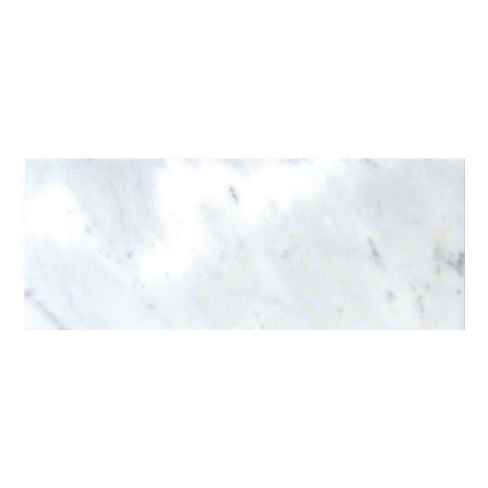 "Premier Carrara White 3"" x 6"" Polished Natural Stone Tile, , large"