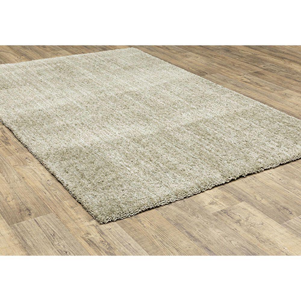 "Oriental Weavers Aspen Shag Distressed 829J9 9'10"" x 12'10"" Beige Area Rug, , large"