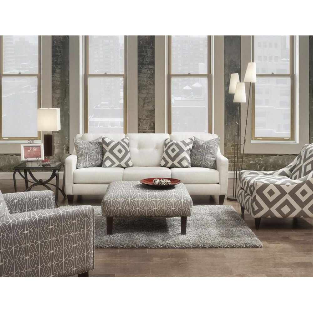 Xenia Sugarshack Glacier Accent Chair in Emblem Charcoal, , large