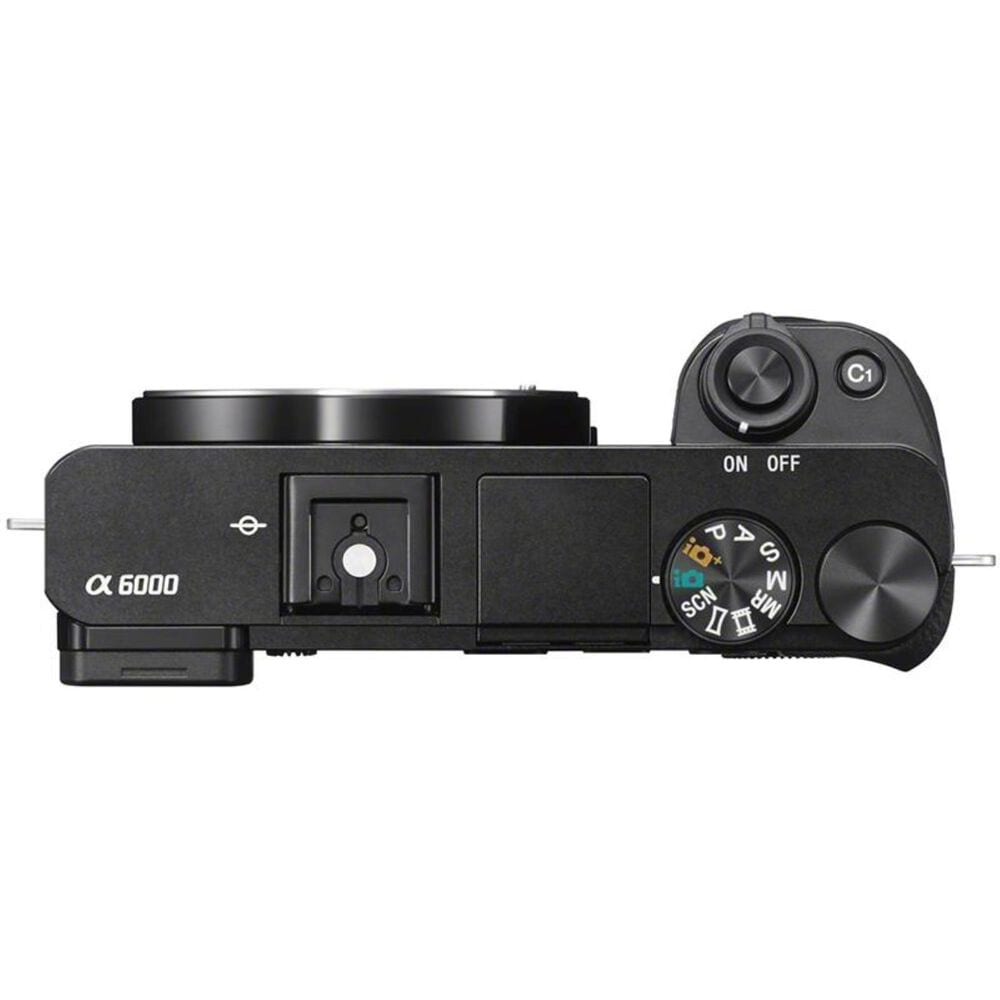 Sony a6000 Mirrorless Digital Camera w/ 16-50mm and 55-210mm Lenses, , large