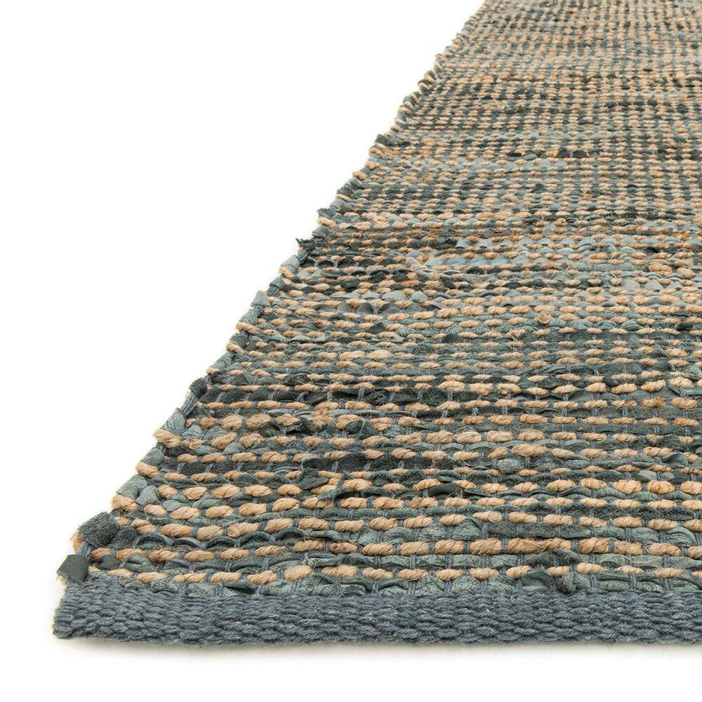 """Loloi Edge ED-01 3'6"""" x 5'6"""" Grey Area Rug, , large"""