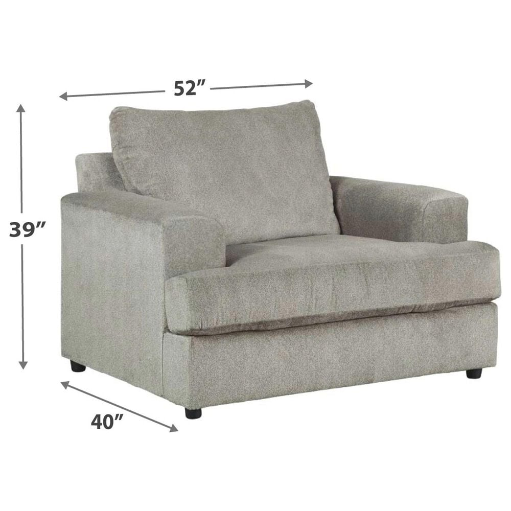 Signature Design by Ashley Soletren Oversized Chair and A Half in Ash, , large