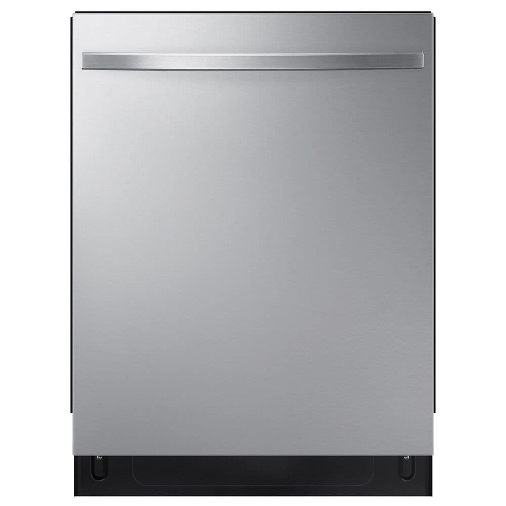 Samsung 2-Piece Kitchen Package with 26.7 Cu. Ft. Side-By-Side Refrigerator and Top Control Dishwasher in Stainless Steel, , large