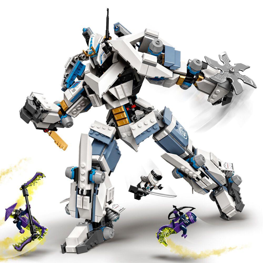 LEGO Ninjago Zane's Titan Mech Battle Building Toy, , large