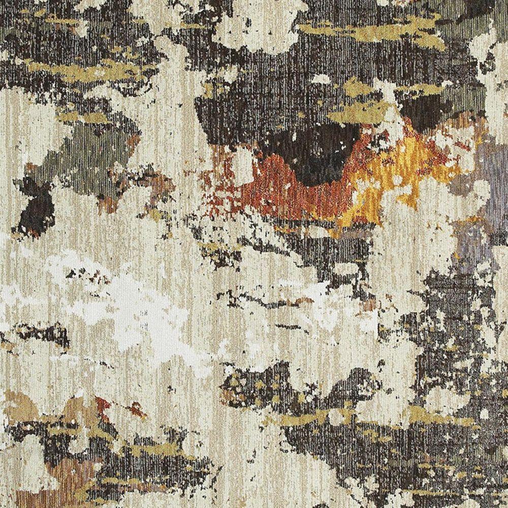 "Oriental Weavers Evolution 7770J 7'10"" x 10'10"" Beige Area Rug, , large"