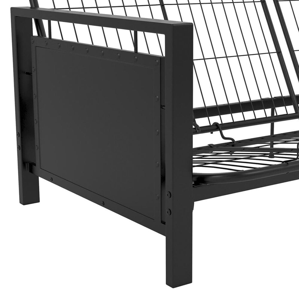 DHP Henley Futon Metal Frame in Black, , large